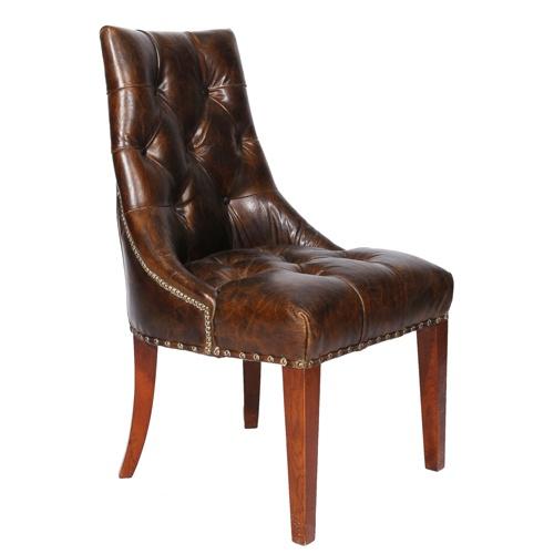 www.topolansky.co.za - Sandown Side Chair in Vintage Leather