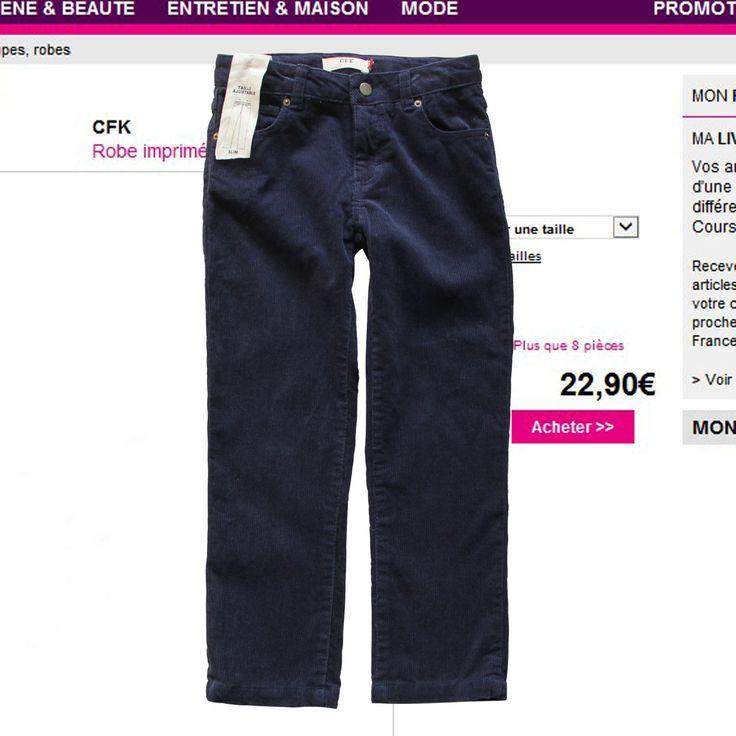 Французские оригинальные один мальчик вельветовые брюки выделить Немного Скидки - Taobao