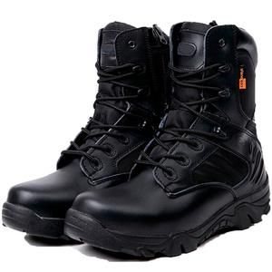 173c477d77d Winter Men Military Combat Boots Leather Desert Work Safety Shoes Tactical  Ankle Boots Men s Army Botas