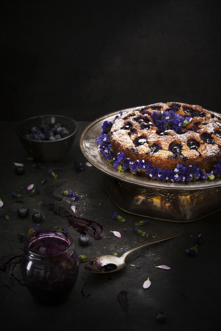 Torta alla ricotta e mirtilli - di Debora Garra #fuudly #ricette