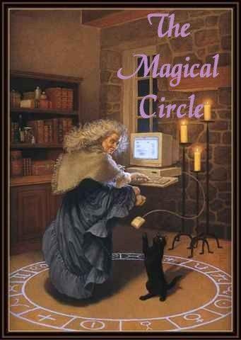 The Magical Circle School is a free school for those interested in Wicca, Paganism and Magick.     Visit us at www.mistresskalpanasrealm.com