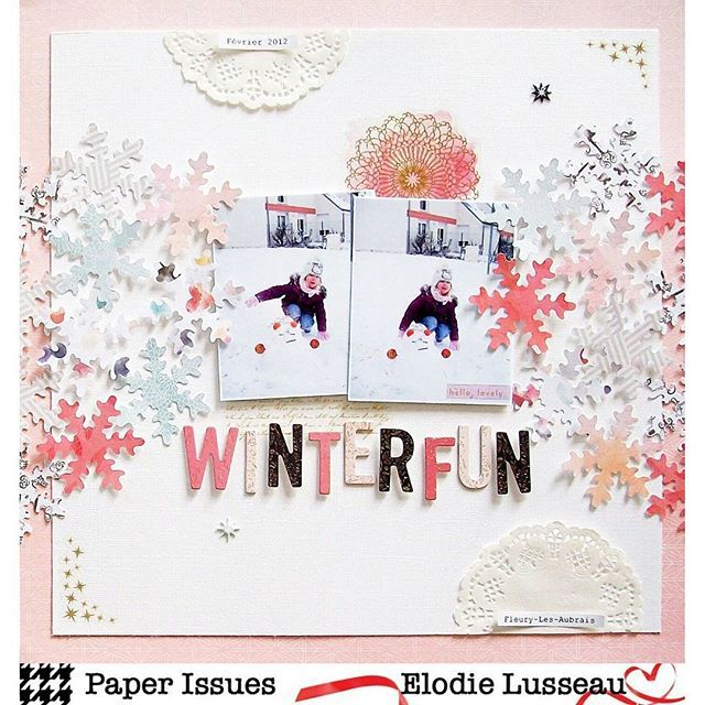 The first Take 5 Tuesday challenge of the year is up on the @paperissues blog today! Here is my take using the beautiful Moonstruck line by @pinkpaislee. Join us in the PIFF Facebook group to play along! #crafts #creative #papercrafting #papercrafts #paperissues #pinkpaislee #ppmoonstruck #scrapbook #scrapbooking #scrapbooklayout #take5tuesday
