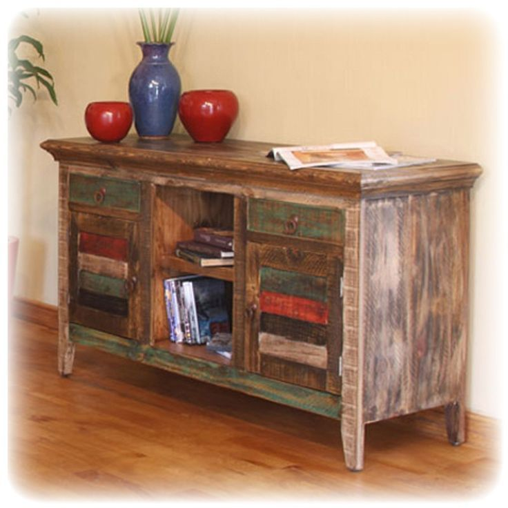 multicolor wood center google search antique tv standswood centertv - Distressed Tv Stand