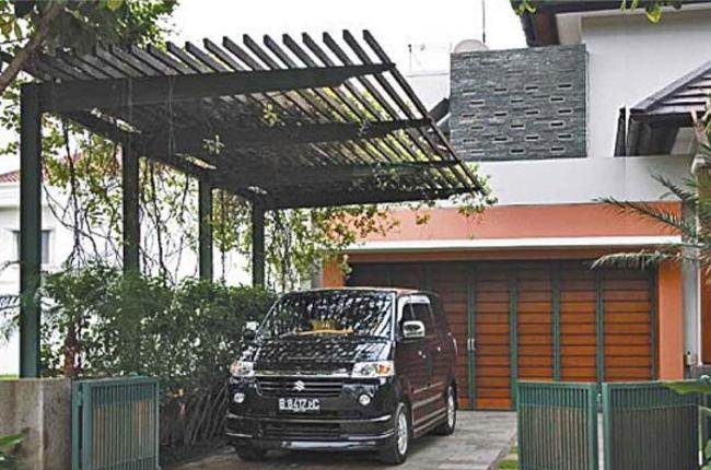 Idea Online Eksterior Carport Cantilever Carport