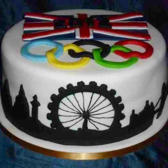 London 2012 London Eye Cake - Yum Yum!