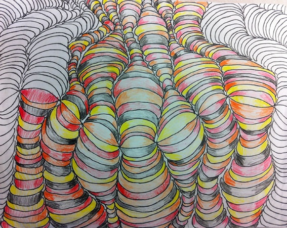 artisan des arts: Optical Illusion How-to Video - grade 5 and 6