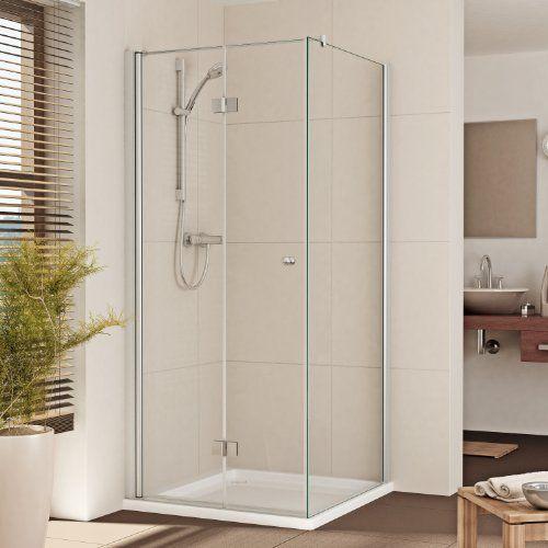 Dusche Eckeinstieg Faltt?r : Duschkabine Duschabtrennung Dusche Eckeinstieg Faltt?r -B:75-140 cm