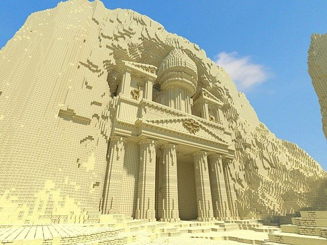 Petra Minecraft World Save==== The story of Petra amazes me...it was there one minute..gone the next.