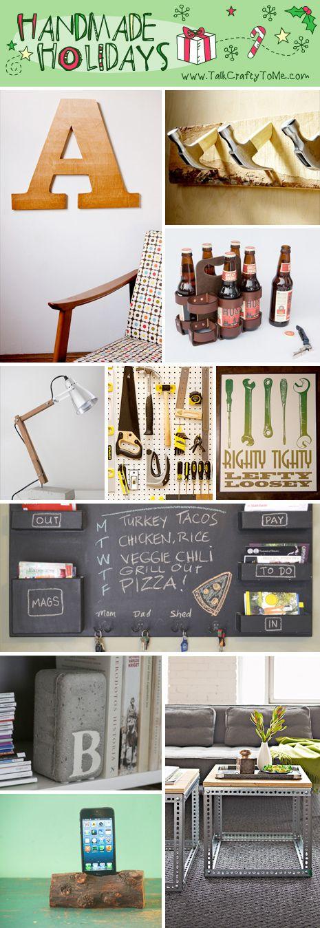 HandmadeGiftGuide Handyman Handmade Gift Guide: Gifts for The Handyman