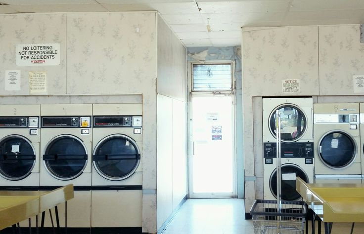 Coin operated Laundromat aesthetic Pinterest: @elipry