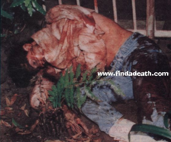 nicole brown simpson autopsy | He had his stepmother's shopping list in hispocket and a beeper that ...