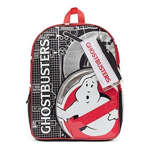 Ghostbusters Backpack Includes Sticker Sheet and Pencil Case Kids' Backpacks, Ne #Beltronics