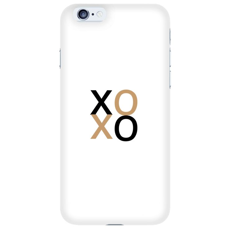 XOXO iPhone 6/S Case by Urban Trends Apparel.