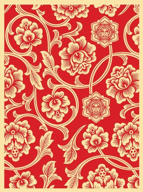 Obey 'Flower Vine' Print Releases « P O S T E R S A N D P R I N T S