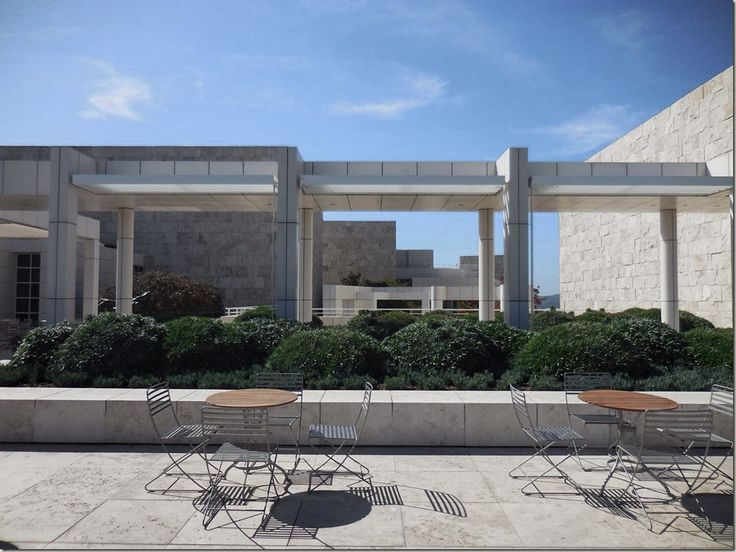The Getty Centre in Los Angeles - incredible piece of design and architecture and with some good exhibitions too.