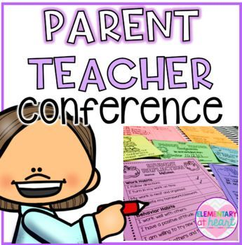 Don't sweat Parent Teacher Conferences! This product is a MUST for new   and veteran teachers! This product includes 23 printables: - Conference   Sign In - Conference Schedule ( for teachers) - Welcome Parents Sign ( c   and b&w) - Welcome Families Sign ( c and b&w) - Conference   Report ( 2 versions) - Tell Me About Your
