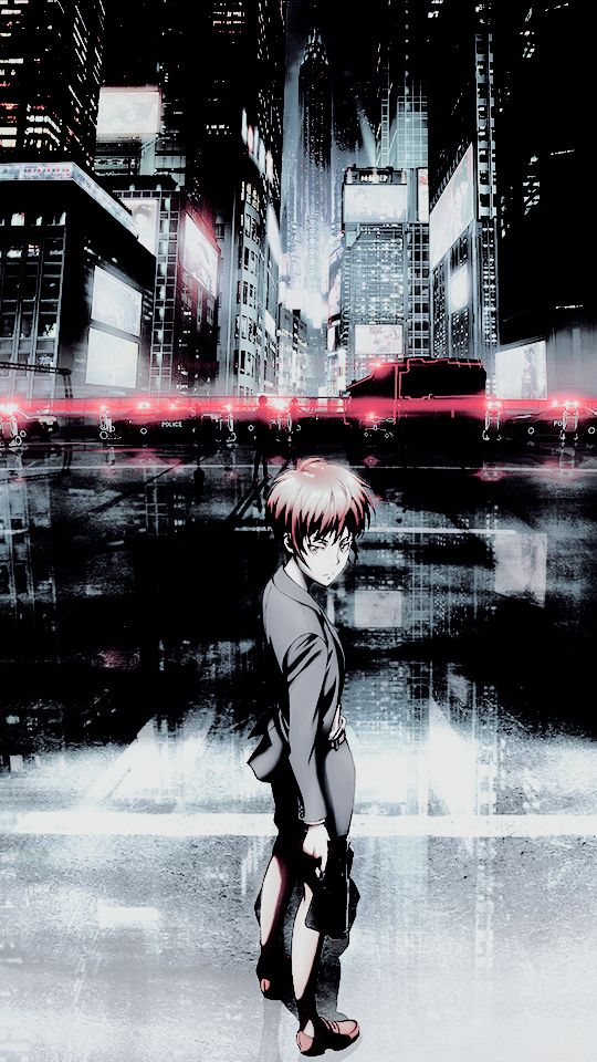 Psycho Pass Akane Wallpaperart Pinterest Psycho Pass Manga