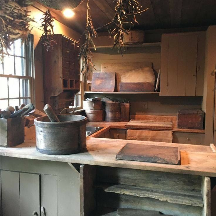 498 Best Primitive Kitchens Images On Pinterest Country Kitchens Kitchen Rustic And Prim Decor