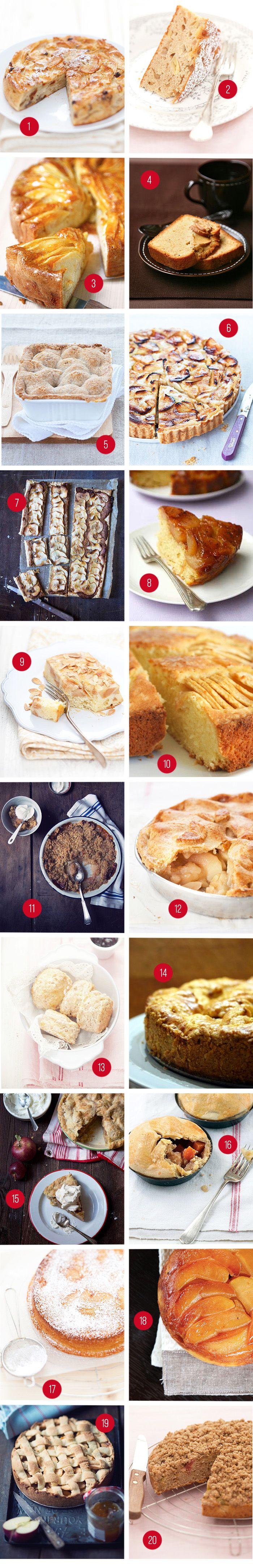 Il Cavoletto di Bruxelles condivide 20 buonissime torte di mele