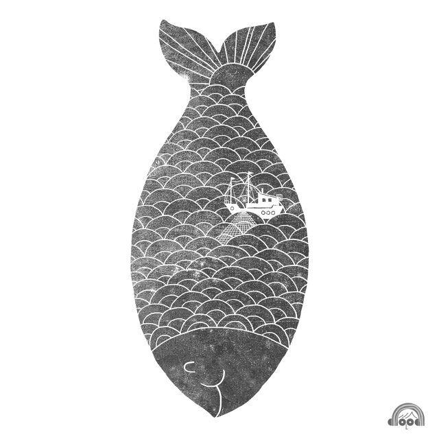 Day 79: Big Fish by ILoveDoodle, via FlickrFish Boats, Fish Prints, Fish Art, Lim Henge, Art Prints, Design Art, Kids Room Art, Visual Art, Henge Swee