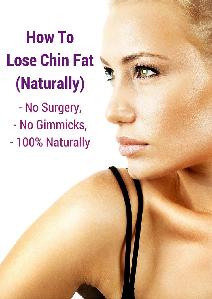 How To Lose Chin Fat 100% Naturally - No Surgery & Very ...