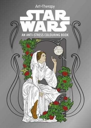 New Disney and Star Wars Art Therapy Adult Coloring Books Available for Pre-Order
