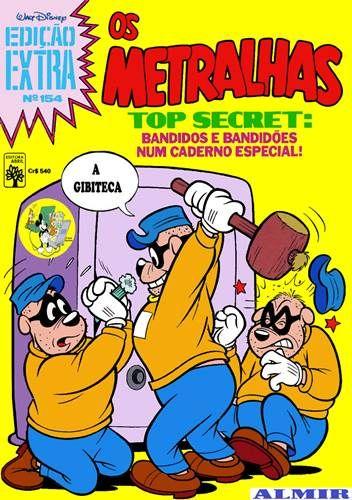 Edição Extra - 154 : Os Metralhas