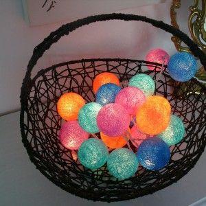 Girlandy Cotton Ball Pastel