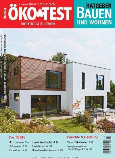 Awesome Aktuelle Ausgabe von KO TEST Ratgeber Bauen und Wohnen als Einzelheft bestellen und mehr