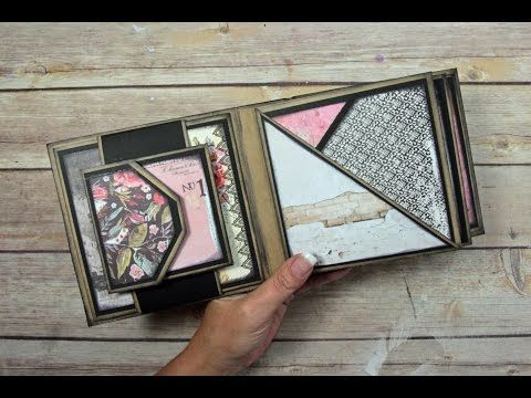The Ultimate Waterfall Mini Album - Page Construction Video - YouTube