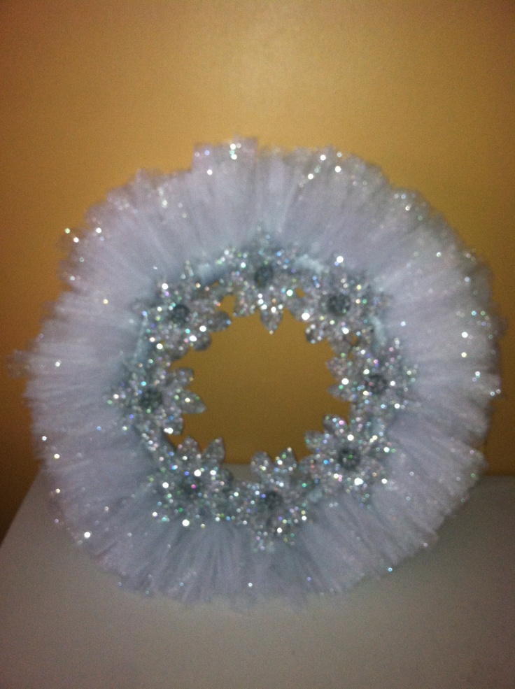 Best 25 Tulle Wreath Ideas On Pinterest Wreath Tulle