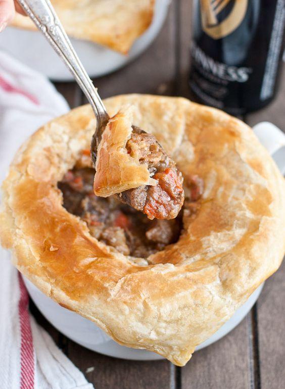 Guinness Beef Pot Pie | Neighborfoodblog.com