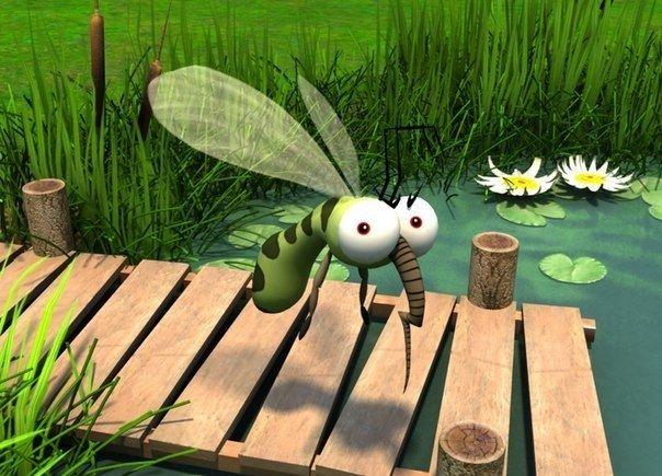 Как избавиться от комаров