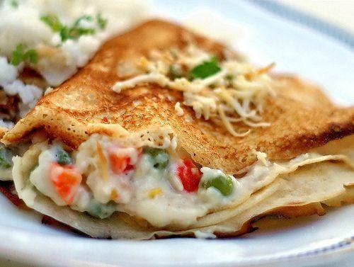 ヘルシーで美味しいサラダクレープの作り方とおすすめレシピ