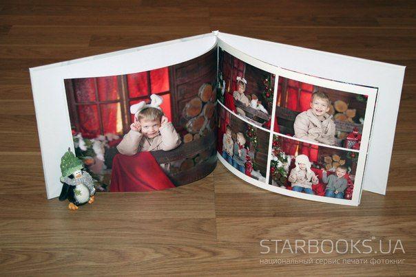 """Фотокнига """"Наши детки"""" формат Starbook Album. Стоимость от 335 грн."""