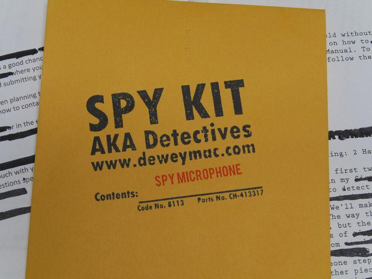 Spy Microphone (Glass Ear) Kit