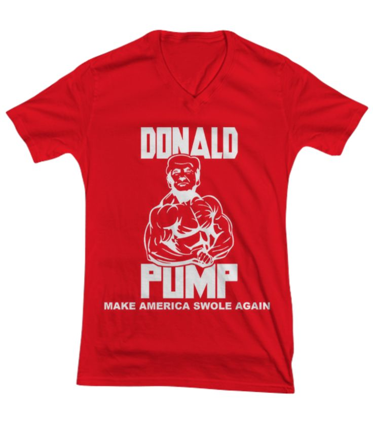 Donald Pump - Make America Swole Again - Woman's Cut