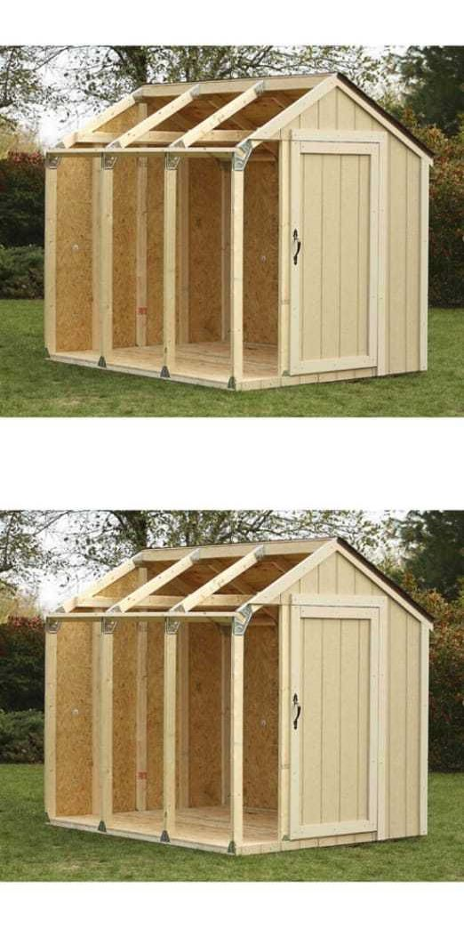 Garden and Storage Sheds 139956: Hopkins Peak Roof Shed Kit -> BUY IT NOW ONLY: $59.07 on eBay!