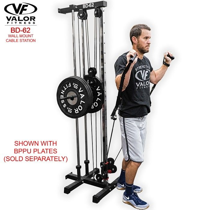 Bd 62 Wall Mount Cable Station At Home Workouts No Equipment Workout At Home Gym