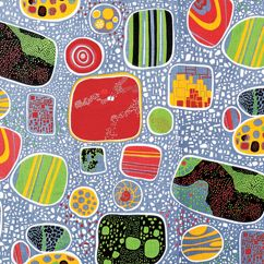 Josef Frank Terrazzo Pattern. I just looked up the conversion from Swedish Kroeners to US Dollars. I won't be making the tablecloth I want from this any time soon.