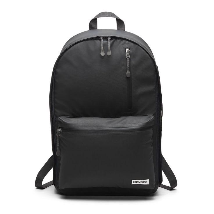 Converse Rubber 22L Backpack (Black)