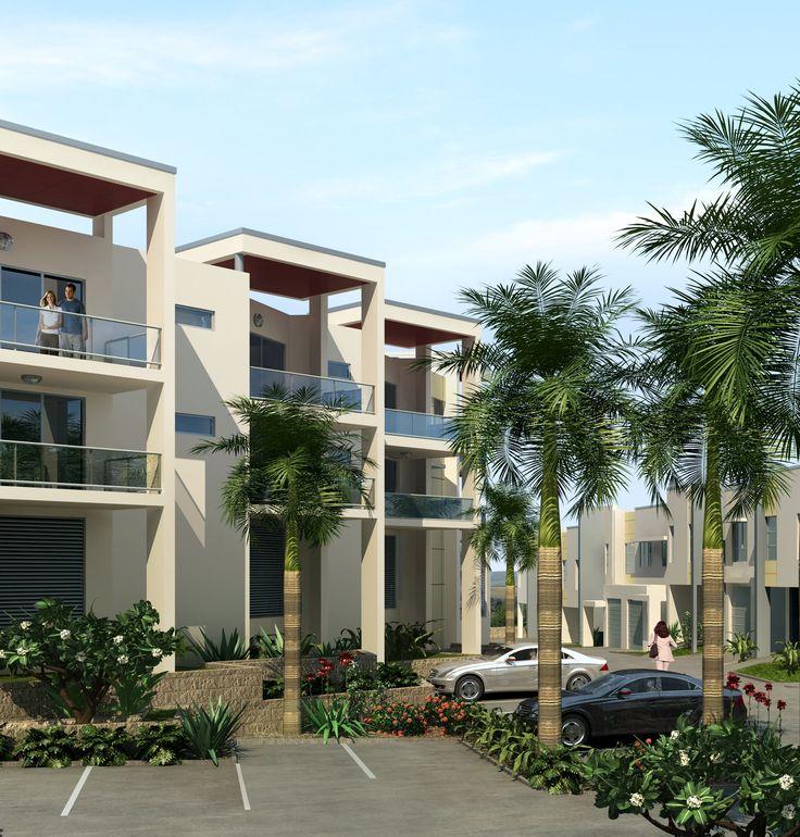 Modern Luxury Home In Architectural Design In Australia: Townhouse Development In Bowen Queensland