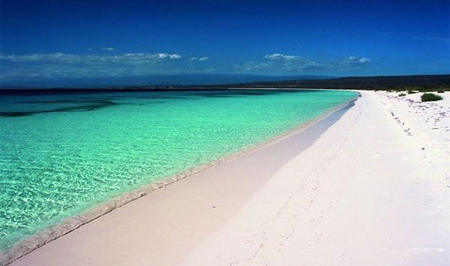 Bahia De Las Aguilas Eagles Bay Is An 8 Km Long Beach