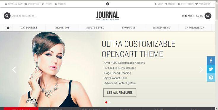 Este es un hermoso template E-Commerce, que podemos adaptarle al cliente, para que venda joyas, por ejemplo.