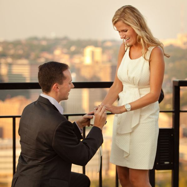 Are Proposal Pictures the New Engagement Pictures? - December 2015 #Pittsburgh #Weddings #Proposal #Pictures