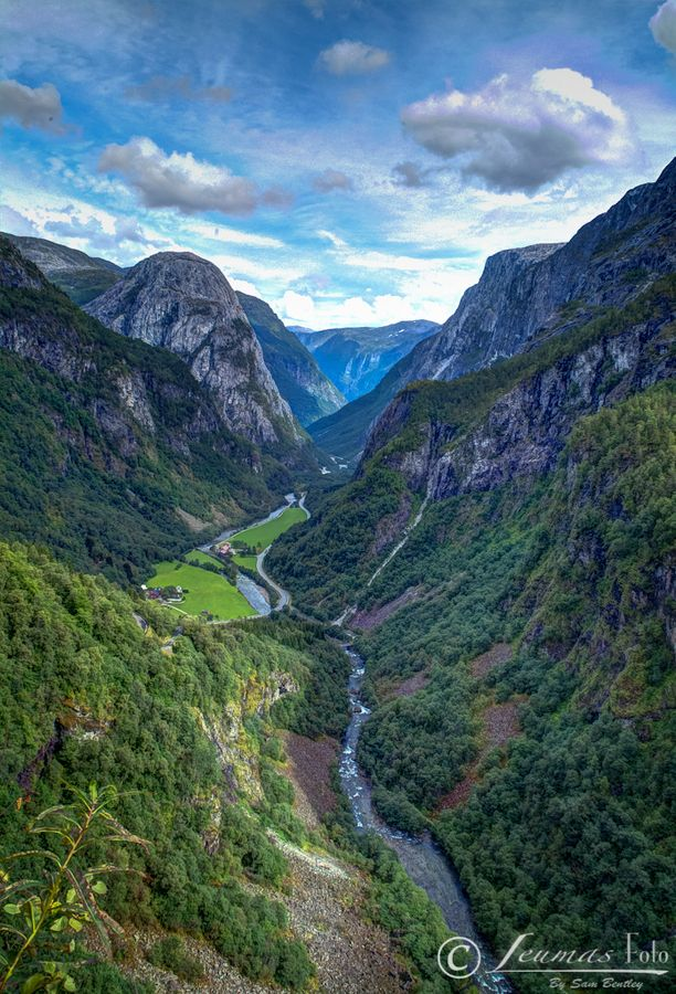 Flam, Norway…one of my favorite places in the world.