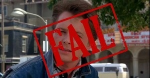 Comments that make your head hurt! Movie FAIL: Back to the Future's Most Obvious Mistakes