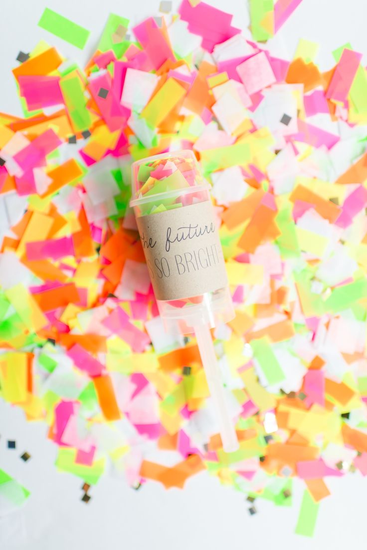 #confetti  Photography: Cambria Grace Photography