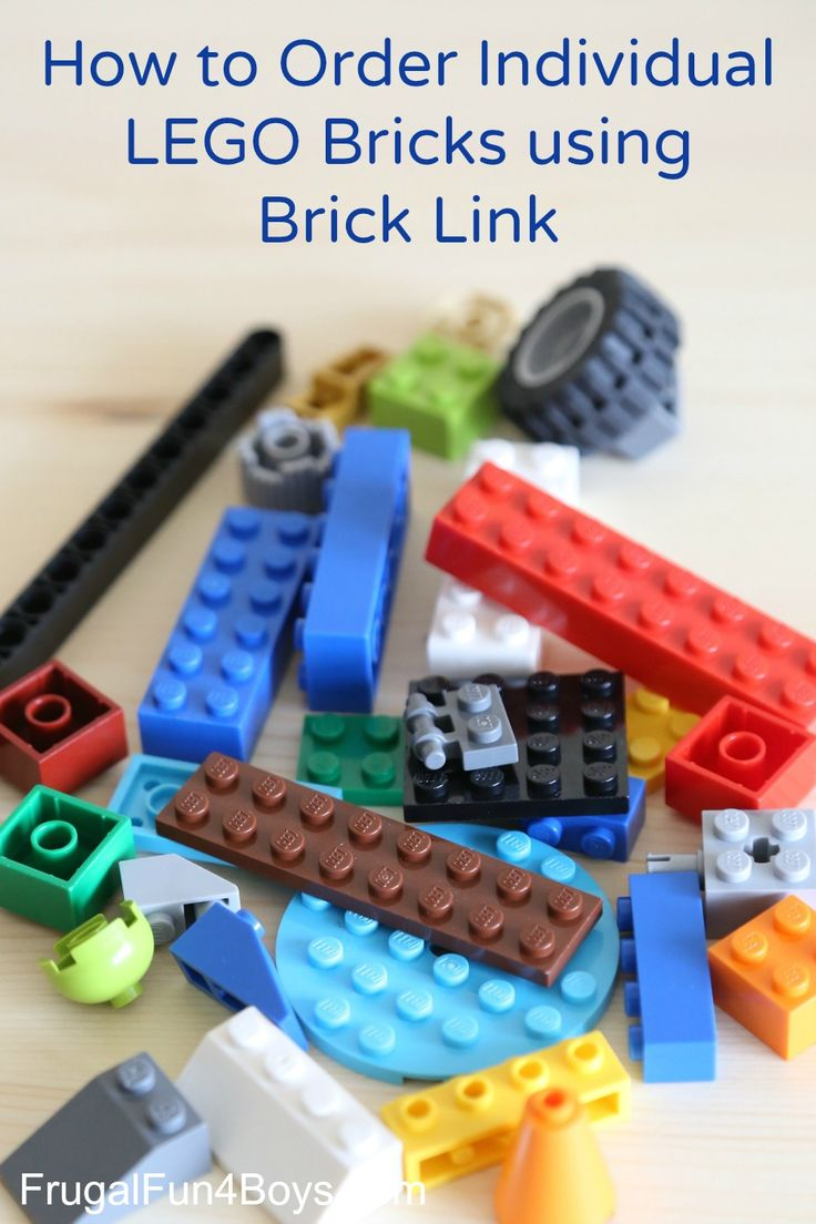 How to Buy Individual LEGO Pieces on BrickLink - Order extra parts like lightsabers, mini figures, and any type of brick. Get extra wheels, etc. This is awesome!