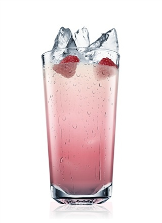 ABSOLUT RASPBERRY COLLINS COCKTAIL RECIPE  Ingredients  2 Parts ABSOLUT VODKA  1 Part Lemon Juice  1 Part Simple Syrup  5 Whole Raspberries  Soda Water